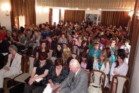 Fotografie z konference a vyhodnocení středoškolských prací Lanškroun historický