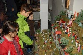 Fotografie z vánoční vernisáže výstavy Veronika Balcarová