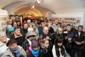 Fotografie z vernisáže výstavy Vánoce ve světě