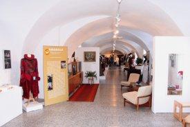 Fotografie z vernisáže výstavy Arabela se vrací a Umění stát se knihařem