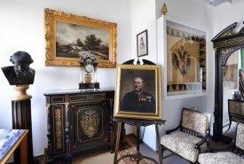 Pohled do stálé expozice – Pokoj pro císaře Františka Josefa I., před 1894, foto: Radek Lepka