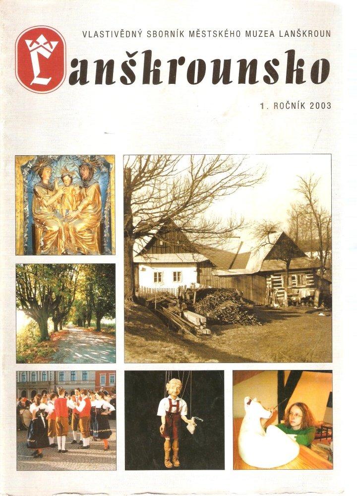 Lanškrounsko č. 1, ročník 2003.